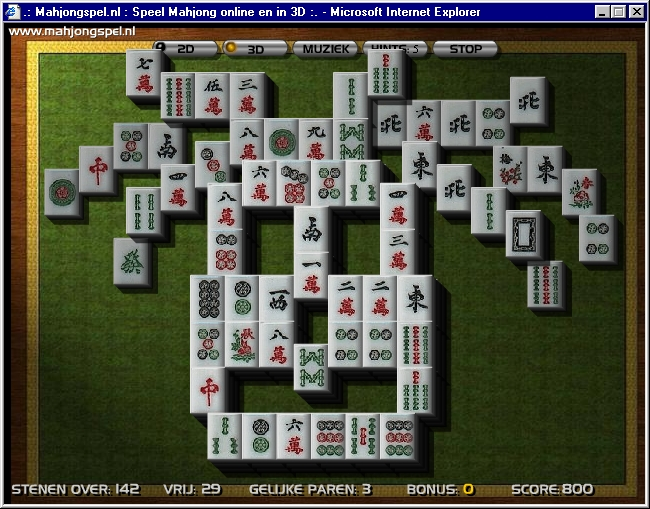 Mahjong Solitaire Games.