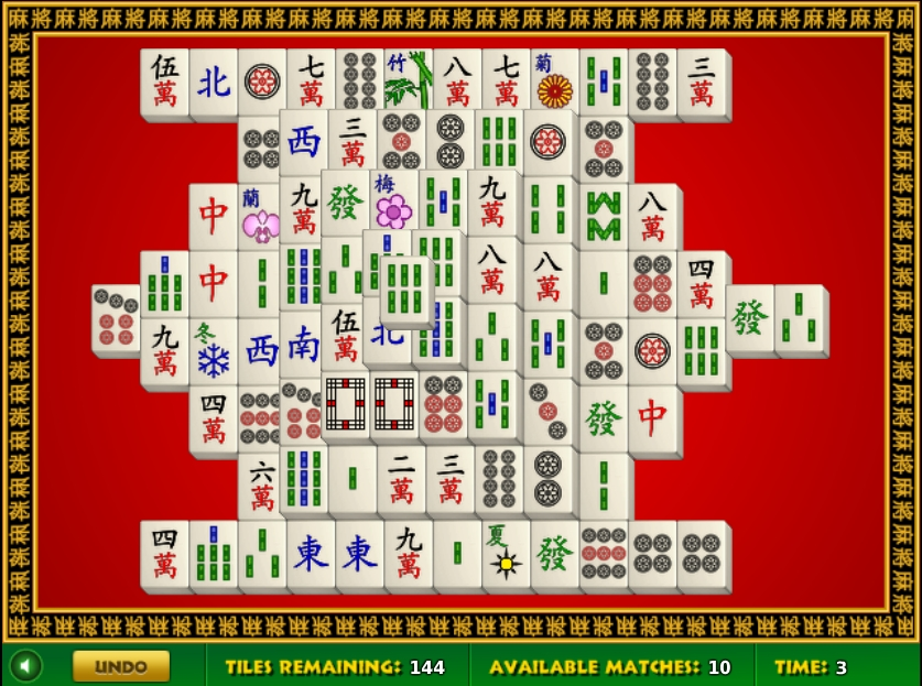mahjong connect full screen