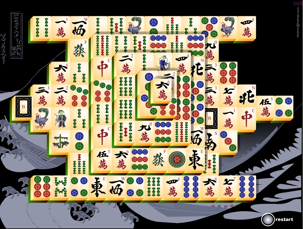 Space mahjong free game screenshots.